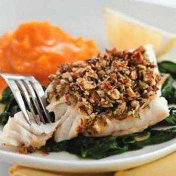 Heart-healthy fish dinner recipe